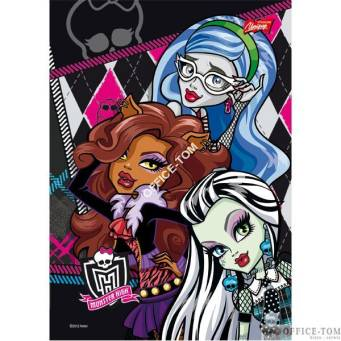 Wkład do segregatora A5 (20k) - 3  MONSTER HIGH UNIPAP