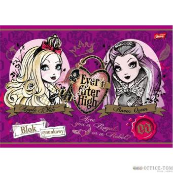 Blok rysunkowy A4, 20k. EVER AFTER HIGH